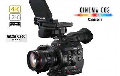 Canon EOS Cinema C300 Mark 2 4K video, 2K video
